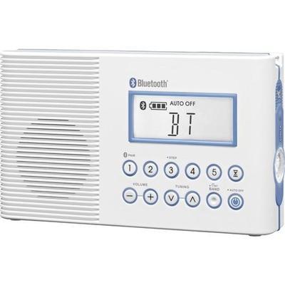 Sangean Fm / Am / Bluetooth Waterproof Radio