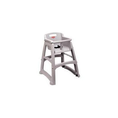 Rubbermaid Sturdy Chair Youth Seat With Wheels, Harness Safety With Release