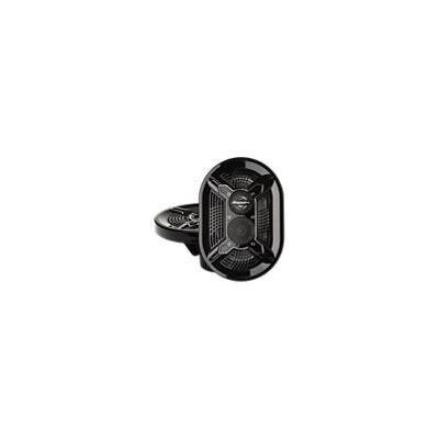 Bazooka - MAC6910B 150W 6in x 9in 3-way marine speakers (Black)