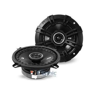 """Kicker 2) Kicker 43DSC504 D-Series 5.25"""" 70 Watt 2-Way 4-Ohm Car Audio Coaxial Speakers"""