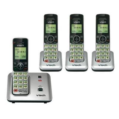 Vtech VTech CS6619-4 4 Handsets Cordless Phone