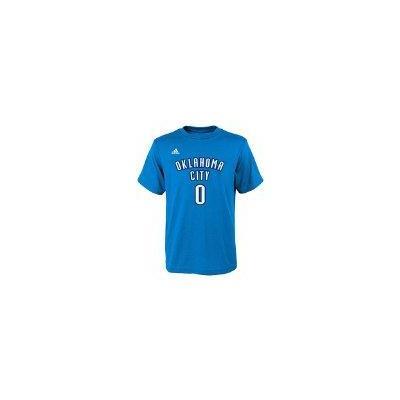 Adidas Russell Westbrook Oklahoma City Thunder Youth Adidas NBA Player Blue T-Shirt