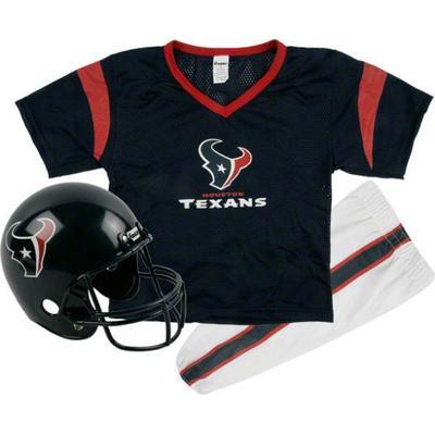 Franklin Houston Texans Youth Navy Blue Deluxe Team Uniform Set
