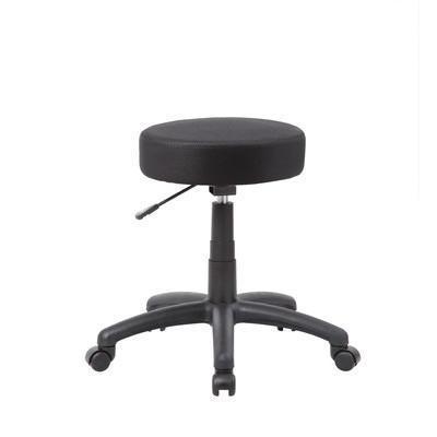 Boss Office Products Products 250 lb Capacity DOT Adjustable Height Stool - Black, B210-BK, B210 BK,