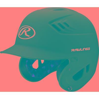 Rawlings R16 Series Matte Blue Baseball Batting Helmet