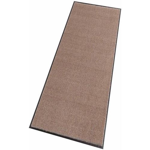 HANSE Home Läufer Deko Soft, rechteckig, 7 mm Höhe, Schmutzfangläufer, Schmutzfangteppich, Schmutzmatte, waschbar braun Teppichläufer Teppiche und Diele Flur