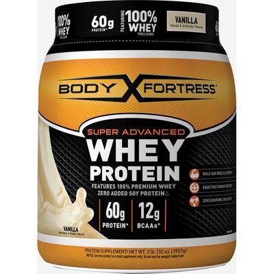 Body Fortress Super Advanced Whey Protein Vanilla-2 lbs Powder