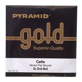 Pyramid Gold Cellosaiten 4/4