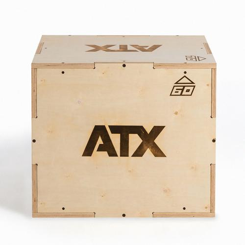 ATX® Sprungbox aus Holz mit 3 verschiedenen Sprunghöhen