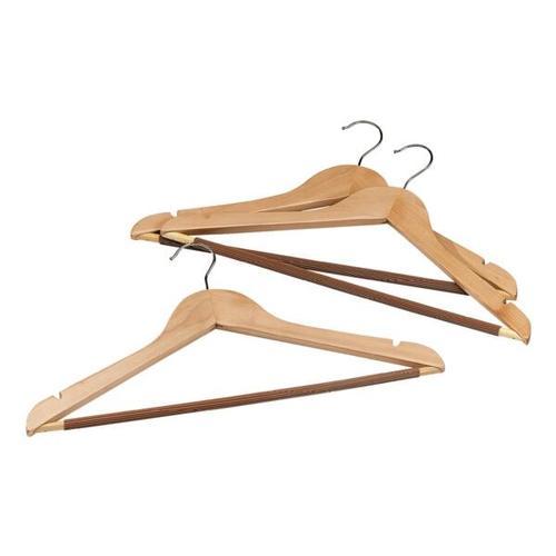 Kleiderbügel aus Holz im 3er-Set, OTTO Office