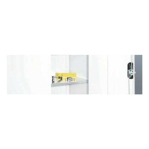 Stahlfachboden »92,7 x 55,2 cm« grau, CP, 92.7x2.4 cm