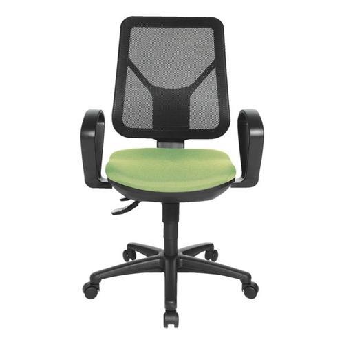 Bürostuhl »Ergo Net« ohne Armlehnen grün, Topstar