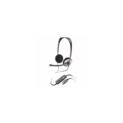 Plantronics .Audio 478 Binaural Over-the-Head Corded Headset (PLNAUDIO478)