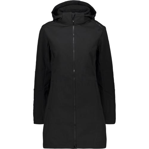 CMP Softshellmantel Damen in nero, Größe 46