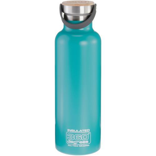 360° degrees Vacuum insulated Isolierflasche in teal, Größe Einheitsgröße