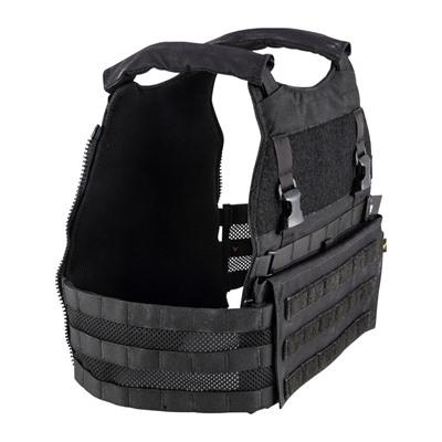 Velocity Systems - Velocity Systems Scarab Light Plate Carrier - Scarab Light Plate Carrier Black Med