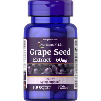 Puritan's Pride Grape Seed Extract with Resveratrol-100 Capsules