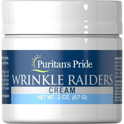 Puritan's Pride Wrinkle Raiders Cream-2 oz Cream