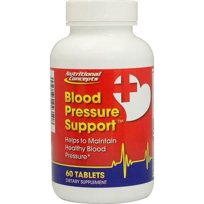 Nutritional Concepts Blood Pressure Support-60 Tablets
