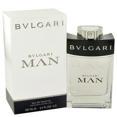 Bvlgari Man For Men By Bvlgari Eau De Toilette Spray 3.4 Oz