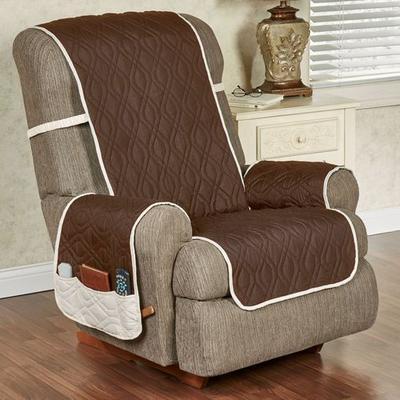 Brilliant Furniture Protector Recliner/Wing Chair, Recliner/Wing Chair, Burgundy