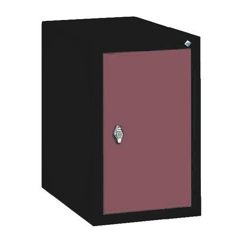 Garderobenschrank rot, CP, 32x50x50 cm