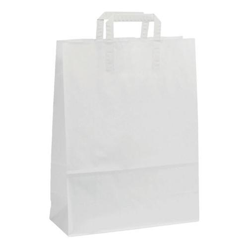 Papier-Tragetaschen »Topcraft« 28 L - weiß weiß, OTTO Office