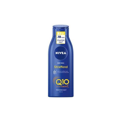 Nivea Körperpflege Body Lotion und Milk Q10 Hautstraffende Body Milk mit Vitamin C 400 ml