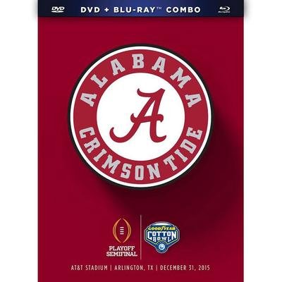 Alabama Crimson Tide College Football Playoff 2015 Cotton Bowl Champions DVD & Blu-Ray Combo Pack
