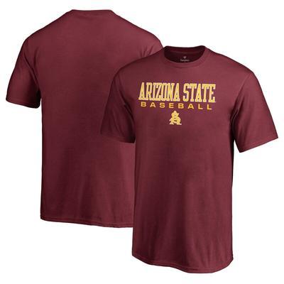 Arizona State Sun Devils Fanatics Branded Youth True Sport Baseball T-Shirt - Maroon