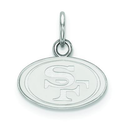 Women's San Francisco 49ers Sterling Silver XS Charm