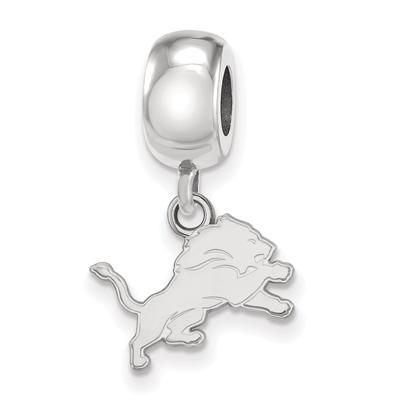 Detroit Lions Sterling Silver Bead Dangle Charm