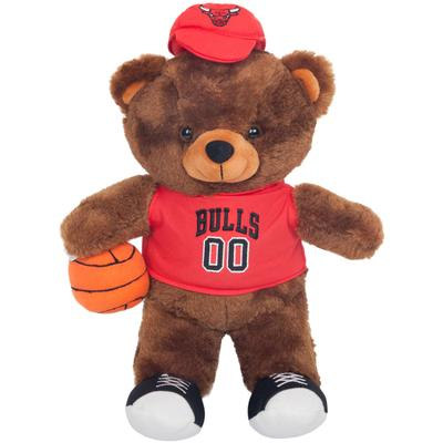 """Chicago Bulls Locker Room Buddy Dress Me Plush Bear Kit"""