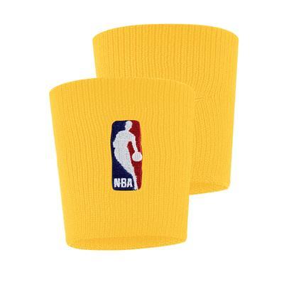 """Nike Yellow NBA Wristbands"""