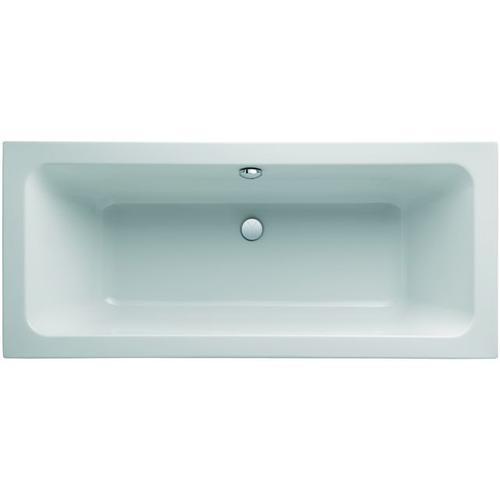 Geberit (Keramag) Badewanne iCon 650470, L: 1700, B: 750mm, weiss, Überlauf mittig, 650470000 650470000
