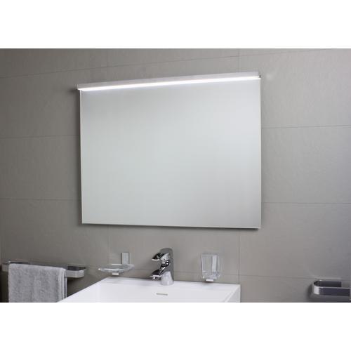 Koh-i-Noor SARTORIA Spiegelleuchte mit LED-Licht. Anbringung an der oberen Spiegelkante mit Klebeban 7912