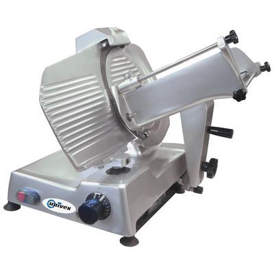 "Univex 6612M Manual Slicer w/ 12"" Blade, Variable Slice Thickness, Sharpener, 115v"