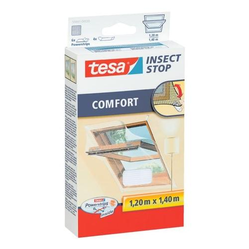Fliegengitter »Comfort« 55881 für Dachfenster weiß, tesa, 120x140 cm