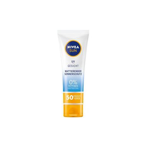 Nivea Sonnenpflege Sonnenschutz Sun Mattierender Sonnenschutz LSF 50 50 ml