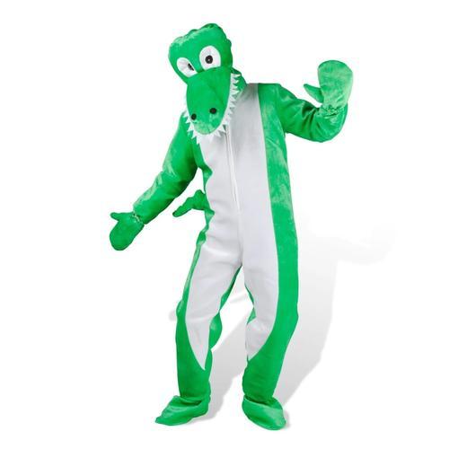 vidaXL Kostüm Krokodil Faschingkostüm Karneval M-L