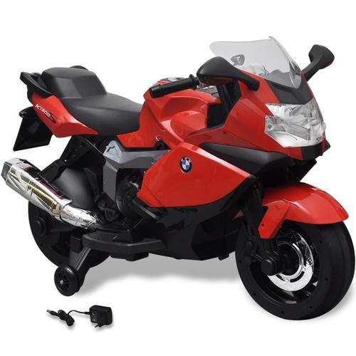 vidaXL BMW 283 Elektrisches Motorrad für Kinder Rot 6V