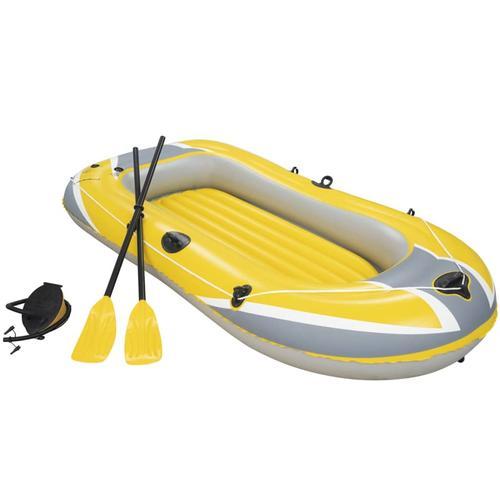 Bestway Hydro-Force Schlauchboot mit Rudern und Pumpe 61083