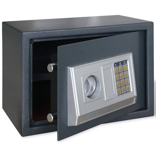 vidaXL Elektronischer Safe Tresor mit Fachboden 35 x 25 x 25 cm