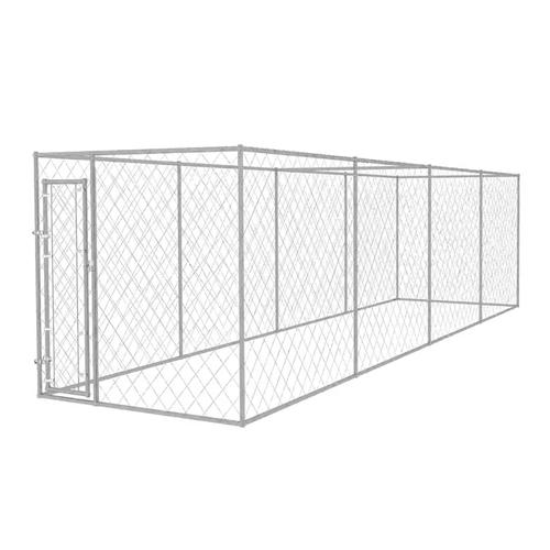 vidaXL Outdoor-Hundezwinger 8x2x2 m