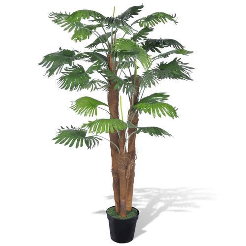 vidaXL Künstliche Palme mit Topf 180 cm