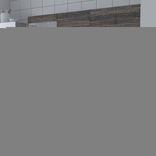 vidaXL Küchenzeile 5-tlg. Wenge-Look