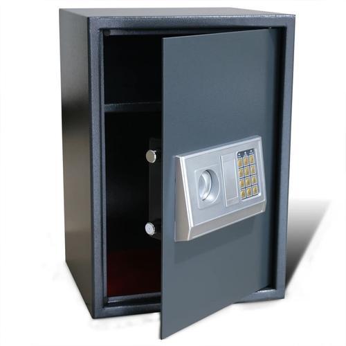 vidaXL Elektronischer Safe Tresor mit Fachboden 35 x 31 x 50 cm