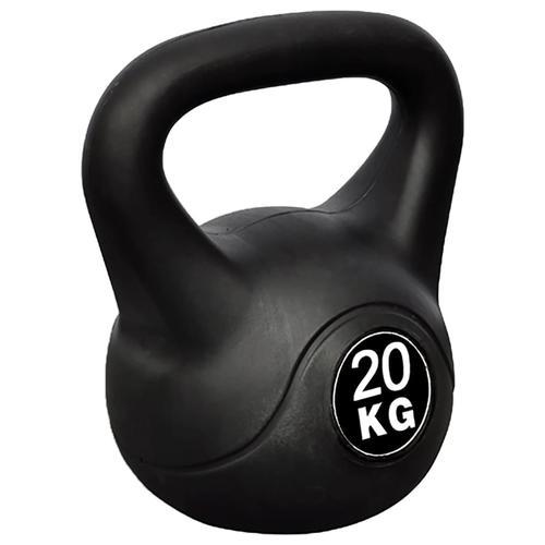 vidaXL Kettlebell Kugelhantel Trainingshantel Gewicht 20KG