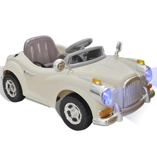 vidaXL Kinderauto Batteriebetrieben Beige