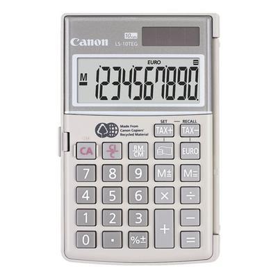 Taschenrechner »LS-10TEG« grau, ...